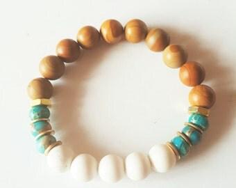 Womens Bracelets, Sandalwood Bracelet, His and Her Jewelry, Ladies Jewelry, Bohemian Jewelry, Boho, Unisex Bracelets, Jewelry Gift for Her