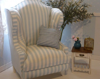 Furniture. Wing chair 1: 6 scale  for pullip blythe etc  It makes custom