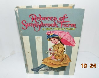 Vintage 1960 REBECCA Of SUNNYBROOK Farm 1960 Whitman VG illus Kate Douglas Wiggin