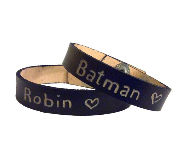 matching bracelets for couples personalized leather bracelet