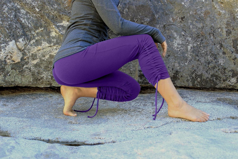 Purple Womens Leggings The Else