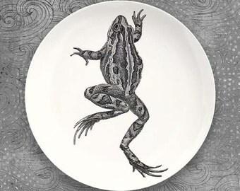 Frog melamine plate dinnerware