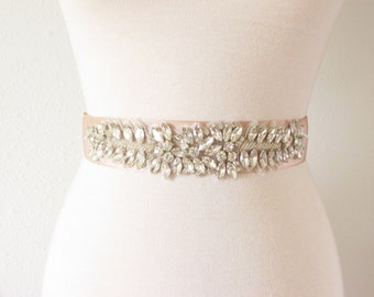 Bridal Sash - Romantic Luxe Grosgrain Ribbon Sash - Wedding Sashes - Bridal Belt