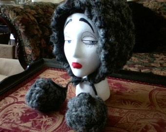 Heather Gray Winter Hat