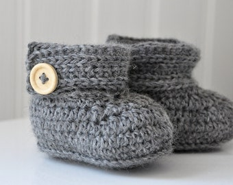 Wrap Around Baby Boots - Instant Download PDF Crochet Pattern