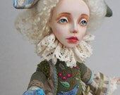 Reserved for Samantha Second Installment OOAK Art Doll CHERRY FAIRY