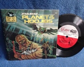 """Vintage, """"Star Wars, Planet Of The Hoojibs"""" John Williams, Story Music, Photos, Read Along, 7"""" Vinyl and Book Set, Record Album"""