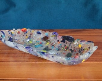 Recycled Glass Oval