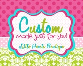 For Any Only Exclusive design  Grove  size 12-18 mo w/embroidery name Lucy