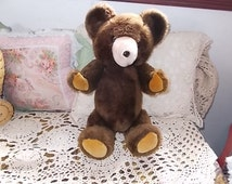 R Dakin & Co 1973 Jointed Legs and Arms Teddy Bear /Not Included In Coupon Sale :)S