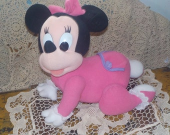 Crawling Baby Minnie Mouse  Mouse Works