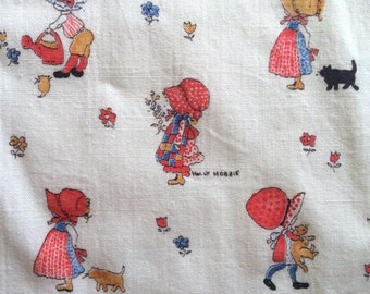 Darling Hollie Hobbie Fabric 1.5 Yards! Country Western Prairie Girl So Sweet Cute Bright Fun CBF