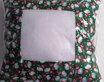 Tuck Pillow, Christmas, Stitchable for Cross Stitch Ebroidery, Finishing, Large