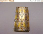 ON SALE REED and Barton Damascene Bird Design Pin/Pendant Item K # 1748