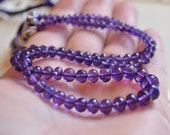 Reserved - Custom Cluster Bracelet in Purple and Green