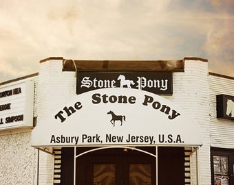 The Stone Pony - Asbury Park - Iconic New Jersey - Jersey Shore - Historic Asbury Park - Music Hall - Music Venue - Architecture Photography