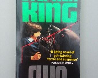 CUJO  Stephen King  vintage paperback  book /  Horror / cult movies /