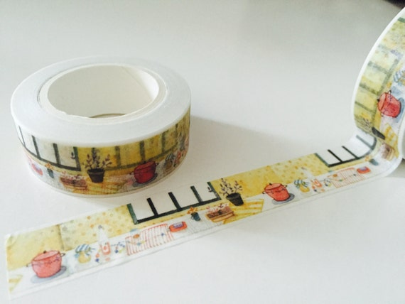 Kitchen Window Washi Tape By Goatgirlmh On Etsy