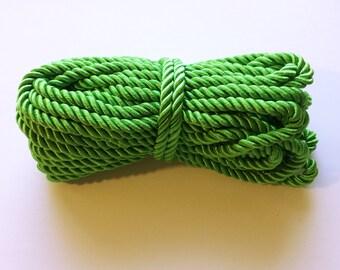 10 yrds Green Twist Cord