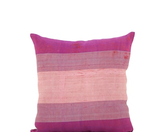 15 x 15 Pillow Cover Ikat Pillow Cover Old Ikat Pillow Cover Throw Pillow Decorative Pillow FAST SHIPMENT with ups or fedex - 09040