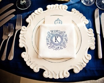Navy Tablecloths, Nautical, Navy Blue Overlays, Free Shipping, 1-2 Day ship,