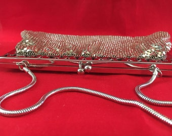 Vintage chain maile evening bag