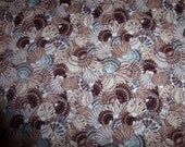 """One (1) Yard of Quilt Cotton Fabric  *Mariner's Cove"""" by M'Liss Rae for JoAnn Fabrics  All Over Shell Design"""