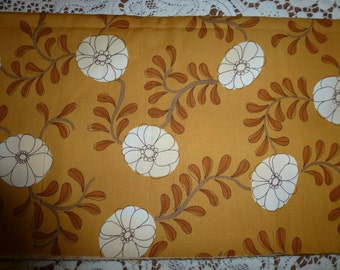 """One Yard of Moda Quilt Cotton Fabric In Creams and Golds """"Za Za"""" by Erin Michael for Moda Fabrics"""