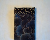 Quilted Fabric Snap Phone Case
