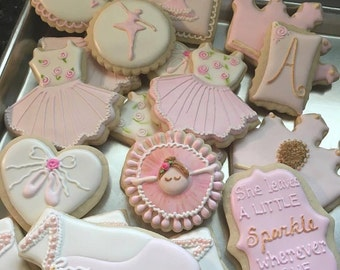 Assorted Ballerina Cookies