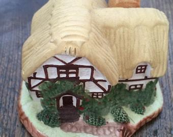 Vintage Miniature Decorative Tudor House