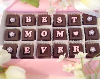 Best Mom Ever,  Mother's Day Gift Card, Mother's Day Candy, Gift for Mom