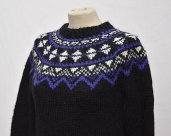 Heavy Black Womens Knitwear (DOWN FROM 19.99)