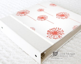 0 to 12 months Baby Memory Book - Dandelions