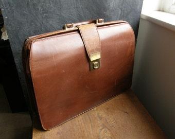 Leather work folder | Etsy
