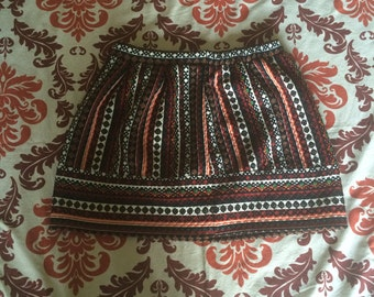 Vintage Bohemian Styled Thick Skirt