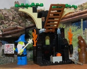 Lego Set 6020 Magic Shop from the Castle Series 1993 wizard owl