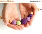25% off Super fashion Juniper Nursing mom necklace - purple, lavender, green