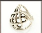 Celtic Knot Ring Sterling Silver Mexico Celtic Knot Ring size 8.5