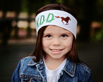 Rodeo Headband, Cowgirl Gifts, Embroidered Headband, Rodeo Embroidered Headband