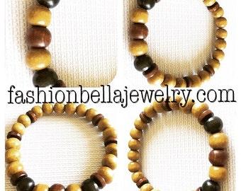 Wood bracelet for men