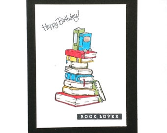 Librarian, Birthday, Congratulations, Book Lover, Dewey Decimal, Card for Librarian, Library Card, Reader, Books, School Librarian