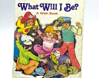 Little Golden Book Spiral Journal Notebook What Will I Be A Wish Book