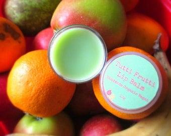 Tutti Fruitti Moisturising Natural Lip Balm