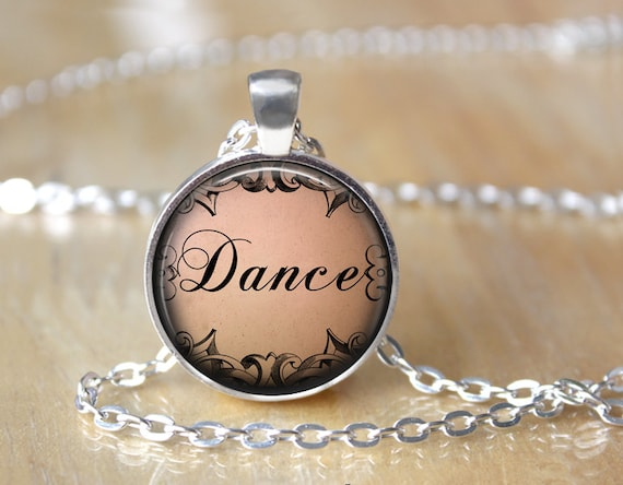 Dance Necklace - Dance Jewelry - Dancer Gift - Ballerina Gift - Ballerina Necklace - Dance Recital Gift L80