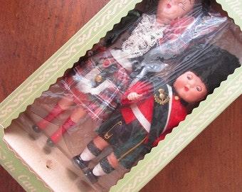 Dolls Souvenir Vintage Made in Canada Scottish? English?