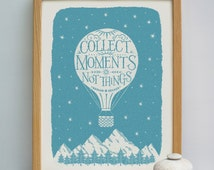 Collect Moments Travel Print