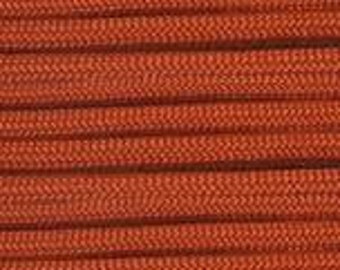 100 ft Burnt Orange 550 Paracord by E.L. Wood