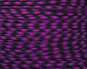 100 ft hank of Blackberry 550 Paracord by E.L. Wood