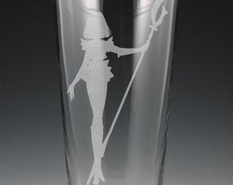 Sailor Saturn Pint Glass